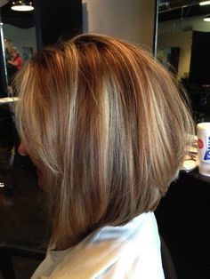 Invert Bob with Light Layers for Women over 40