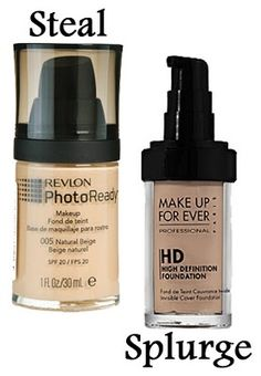 revlon+photoready+foundation+vs+make+up+for+ever+hd+foundation Drugstore Beauty Must Haves!