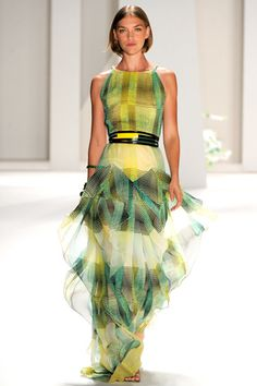 Carolina Herrera. Check out her Spring 2013 collection Sept 10th at 10 am at Lincoln Center!
