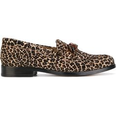Ps By Paul Smith leopard print loafers ($298) ❤ liked on Polyvore featuring shoes, loafers, brown, brown shoes, loafer shoes, brown loafer shoes, brown leather loafers and leopard print shoes