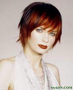 Hair Colour For Short Hair 2014 | StyleSN