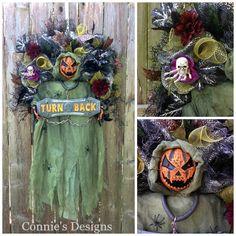 Scary Pumpkin Connie's Designs