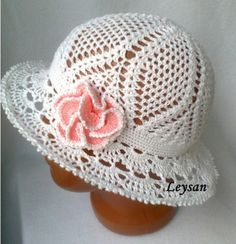 Crochet Cloche Hat Free Pattern Love this hat.It would make a great Sunday Church hat to wear.It's so neatly crafted.Great for young and old alike.