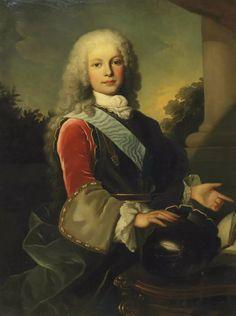 Ferdinand VI, roi d'Espagne, à 12 ans, en 1725, par Jean Ranc