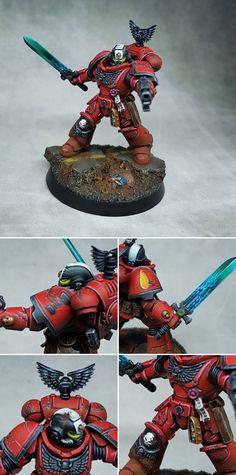 Space marines Primaris lieutenant