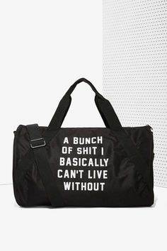 Important Sh*t Duffel Bag