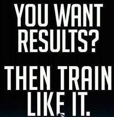 Train like it
