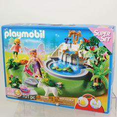 Playmobil - Fairy Fountian Super Set 4008 #PLAYMOBIL