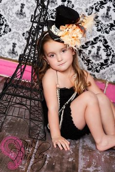 Items similar to I ADORN YOU--LACY  black mini top hat. for special occasions, photo shoots ,circus, and pageants