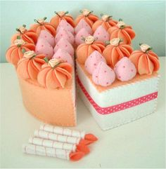 felt cake.