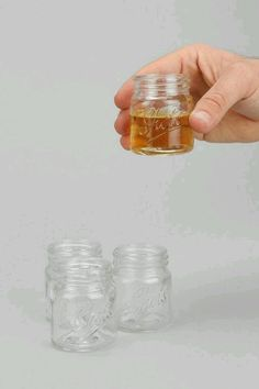 Mason jar shot glasses. OMG can be bought on Amazon! @Kara Feeney  @Jordan Keith  WE NEEED THIS FOR OUR NEXT GIRLS NIGHT!!!