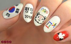 #Pyeongchang2018 #Olympics Nail Art