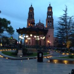Catedral de Chihuahua ......una tarde de verano!!