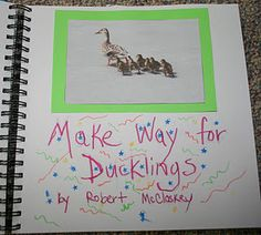 some good ideas for make way for ducklings Make Way For Ducklings, Kinesthetic Learning, Five In A Row, Homeschool Curriculum, Homeschooling, Good Night Moon, Literature Books, Spring Theme, Frog And Toad