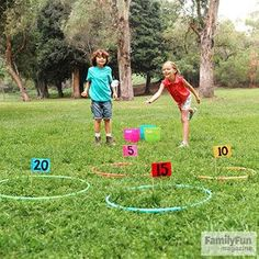 Active Learning: Water Balloon Math: Let your kids make a splash -- and soak up some number skills over the summer -- with these simple games.