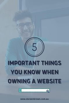 Sounds pretty straight forward – but I have had discussions with business owners who do not have access to their own website. Wesite Marketing | Owning a Website | Website for your Small Business