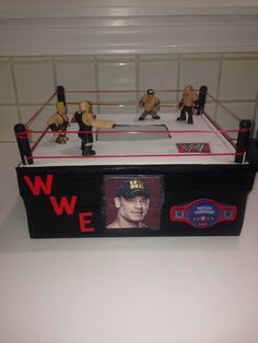 wrestling valentine's day box