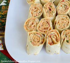 Chicken Enchilada Rollups