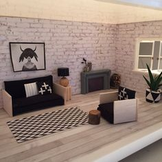 Lundby dollhouse renovation