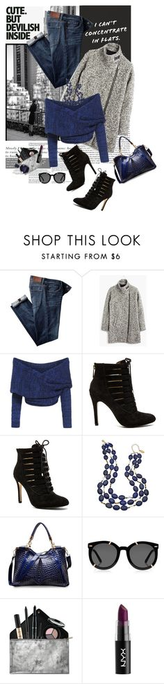 """""""Simply Sleek"""" by shortyluv718 ❤ liked on Polyvore featuring moda, Patagonia, Madewell, BCBGeneration, Gottex, Karen Walker, Smashbox e Lacoste"""