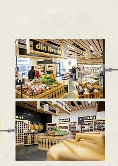 Gusturi romanesti, high-end food store on Behance