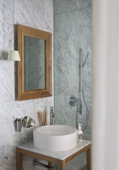 Grey marble from Philippe Stark in India