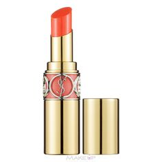 Yves Saint Laurent Rouge Volupte Shine Lipstick 4ml - 14 Corail in Touch #orange #YSL #spring14 #feelunique