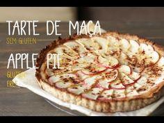 Tarte de maça (sem gluten) | Apple pie (gluten free) - YouTube