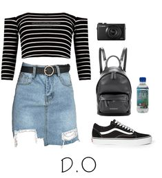 Sightseeing look for with D.O from the kpop group exo. Discover outfit ideas for everyday made with the shoplook outfit maker. Casual Summer Outfits, Spring Outfits, Rome Outfits, Kpop Mode, Outing Outfit, Bts Inspired Outfits, Kpop Fashion Outfits, College Outfits, Aesthetic Clothes
