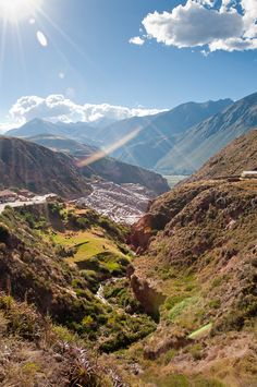 Sacred Valley in Cusco, Peru