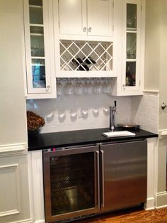 Dry bar idea kitchen ideas pinterest cabinets bar for Kitchen cabinets johnson city tn