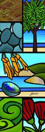 Sarah C   Word Art   Outdoor Art   Kiwiana Art   Garden Art   Corrugated Iron Art   New Zealand Art Primary School Art, Corrugated Roofing, School Murals, New Zealand Art, Heather Brown, Nz Art, Rocky Shore, Maori Art, Kiwiana