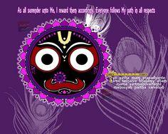 PURIWAVES ye yatha mam prapadyante – Wallpaper HD Lord Jagannath