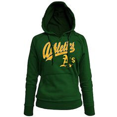 Oakland Athletics Women's Pullover Fleece Hood by 5th & Ocean