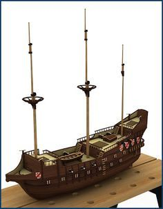 Sea Pirates, Model Ship Building, Old Sailing Ships, Model Boat Plans, Flying Dutchman, Wooden Ship, Nautical Home, Wooden Boats, Model Ships
