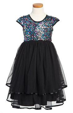 Pippa & Julie Cap Sleeve Dress (Little Girls & Big Girls) available at #Nordstrom