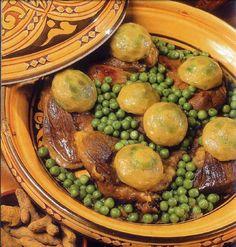 المطبخ العالمي: طاجين الجلبانة والقرنون على الطريقة المغربية