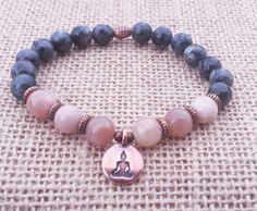 Check out this item in my Etsy shop https://www.etsy.com/uk/listing/253463128/peach-moonstone-bracelet-buddha-yoga