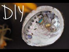 Arts crafts tutorial how to make fake pauaabalone shell diy shell bowl diy beach craftsdiy solutioingenieria Gallery