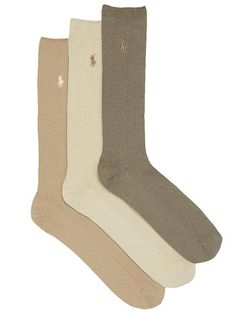 $24.0. POLO RALPH LAUREN Underwear & Sock Big & Tall Combed Cotton Crew Socks 3-Pack #poloralphlauren #underwear&sock #sock #knit #clothing Mens Big And Tall, Big & Tall, Polo Ralph Lauren, Bare Necessities, Cotton Socks, Bearpaw Boots, Crew Socks, Mens Fitness, Calves