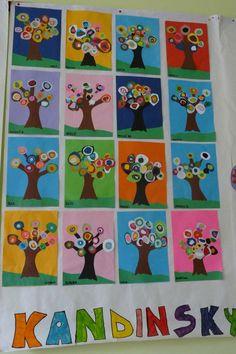 And grundschule decorated jam jars: - Art Ideas Kandinsky Art, 2nd Grade Art, Jar Art, Ecole Art, Kindergarten Art, Art Lessons Elementary, Spring Art, Detail Art, Outdoor Art