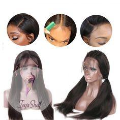 HD Lace Wig Brazilian Straight Human Hair Wigs Price: 62.48 & FREE Shipping #hashtag3 100 Human Hair, Human Hair Wigs, Lace Front Wigs, Lace Wigs, Wig Making, Remy Hair, Brazilian Hair, Hair Type, Wig Hairstyles