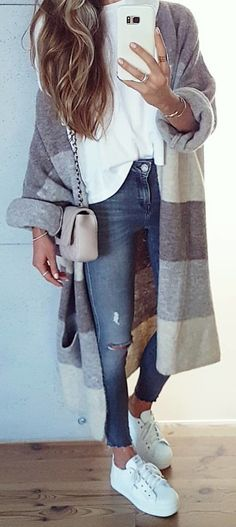 #winter #outfits #look#style#mode#fashion#cardigan#zaraoutfit#greyjeans#zara#instagirl#casual#lookoftheday#mystyle#ootd#casuallook#polishgirl#longhair#sneakers#girlfashion#fashionista#