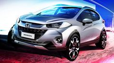 Honda WR-V, primer boceto del SUV que llegará a Sudamérica # Hoy hemos conocido el primer boceto del Honda WR-V, la nueva apuesta de la marca nipona en el mundode los SUV. Aunque todavía no hemos visto imágenes oficiales, se espera que este modelo se sitúe ... »