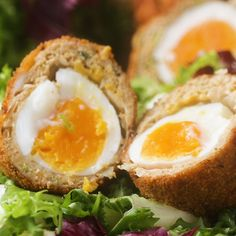 Chicken Masala-wrapped Soft-boiled Eggs Recipe by Tasty