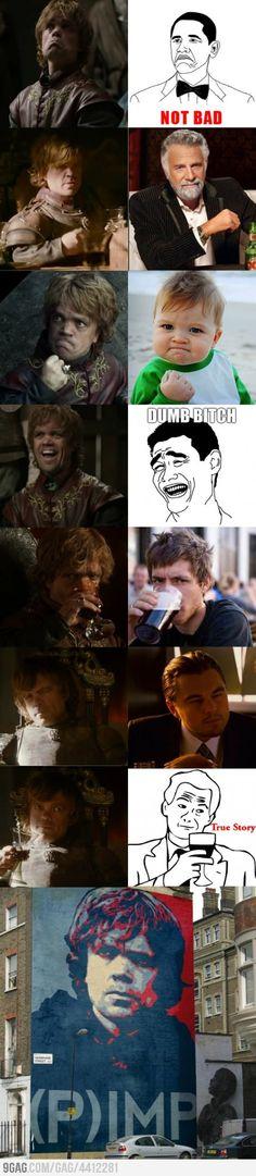 Half-meme. Game of thrones, Tyrion!