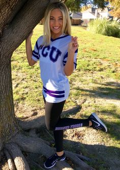 Always repping TCU! Thanks @vspink for having the cutest college gear! Perfect gift for Christmas! #PINKmas #ad -------http://victoriassecret.com/pink/gifts?cm_mmc=BlogPin-_-vspink-_-PEYTONMABRY-_-110315
