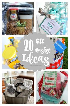 These gift baskets are for real the most adorable things ever! I've always…