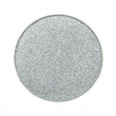 Makeup Geek Foiled Eyeshadow Pan - High Wire - Medium silver with subtle blue undertones medium silver w/ hint of blue.