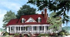 House Plan 86143 | Colonial Cottage Country Farmhouse Southern Plan with 4227 Sq. Ft., 4 Bedrooms, 5 Bathrooms, 2 Car Garage at family home plans